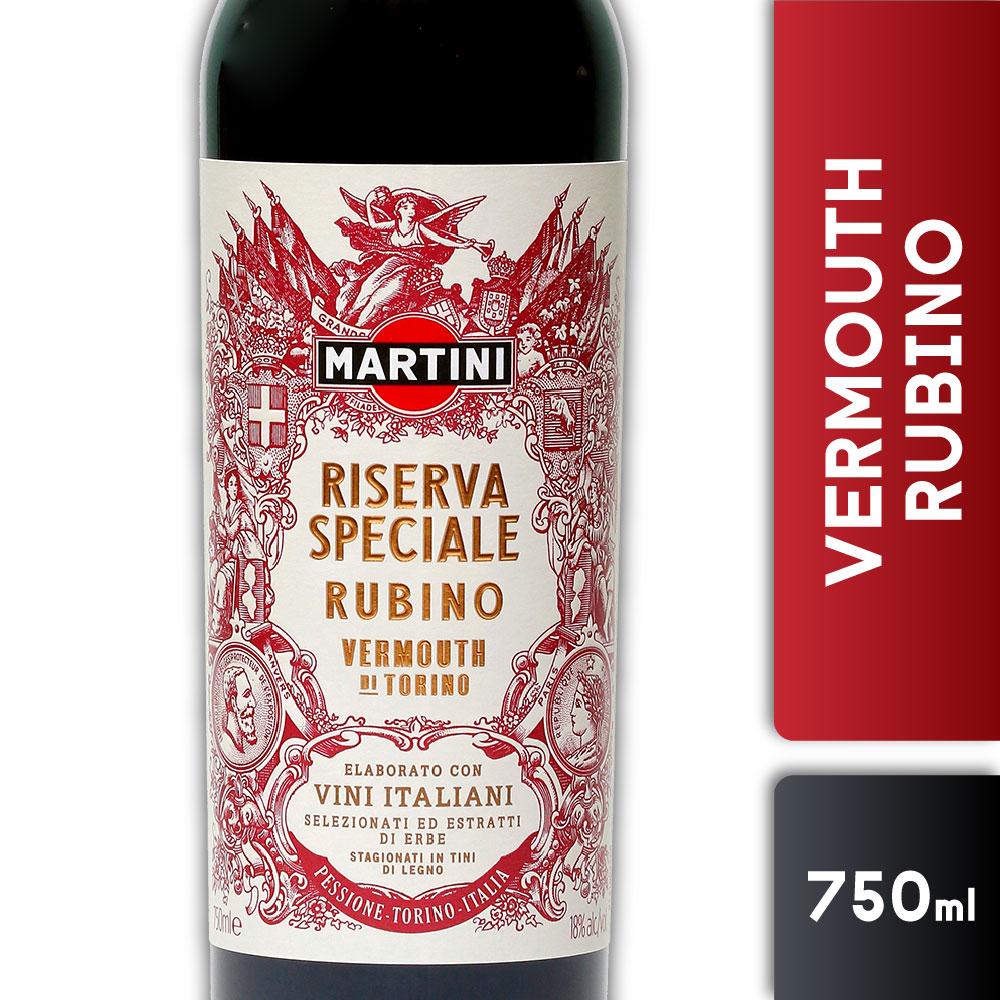 MARTINI RISERVA RUBINO 18º 750mls