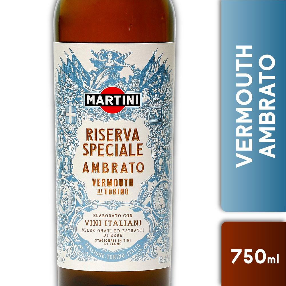 MARTINI RISERVA AMBRATO 18º 750mls