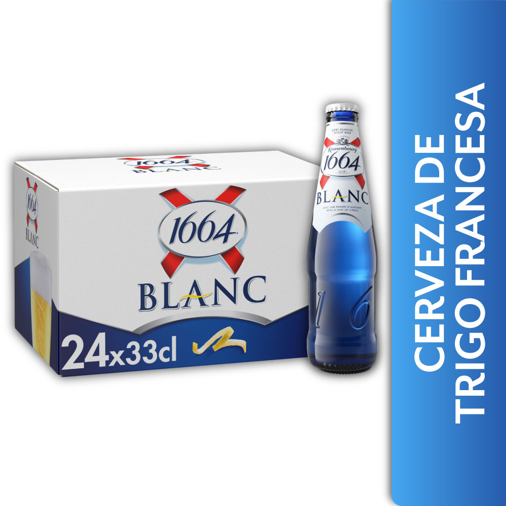 1664 BLANC 5° 24x330ml BTs