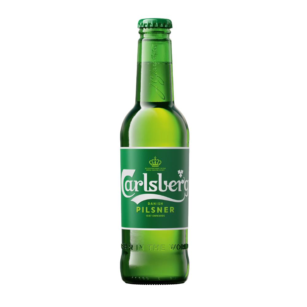 CARLSBERG 5° Botella 330ml PACK x24