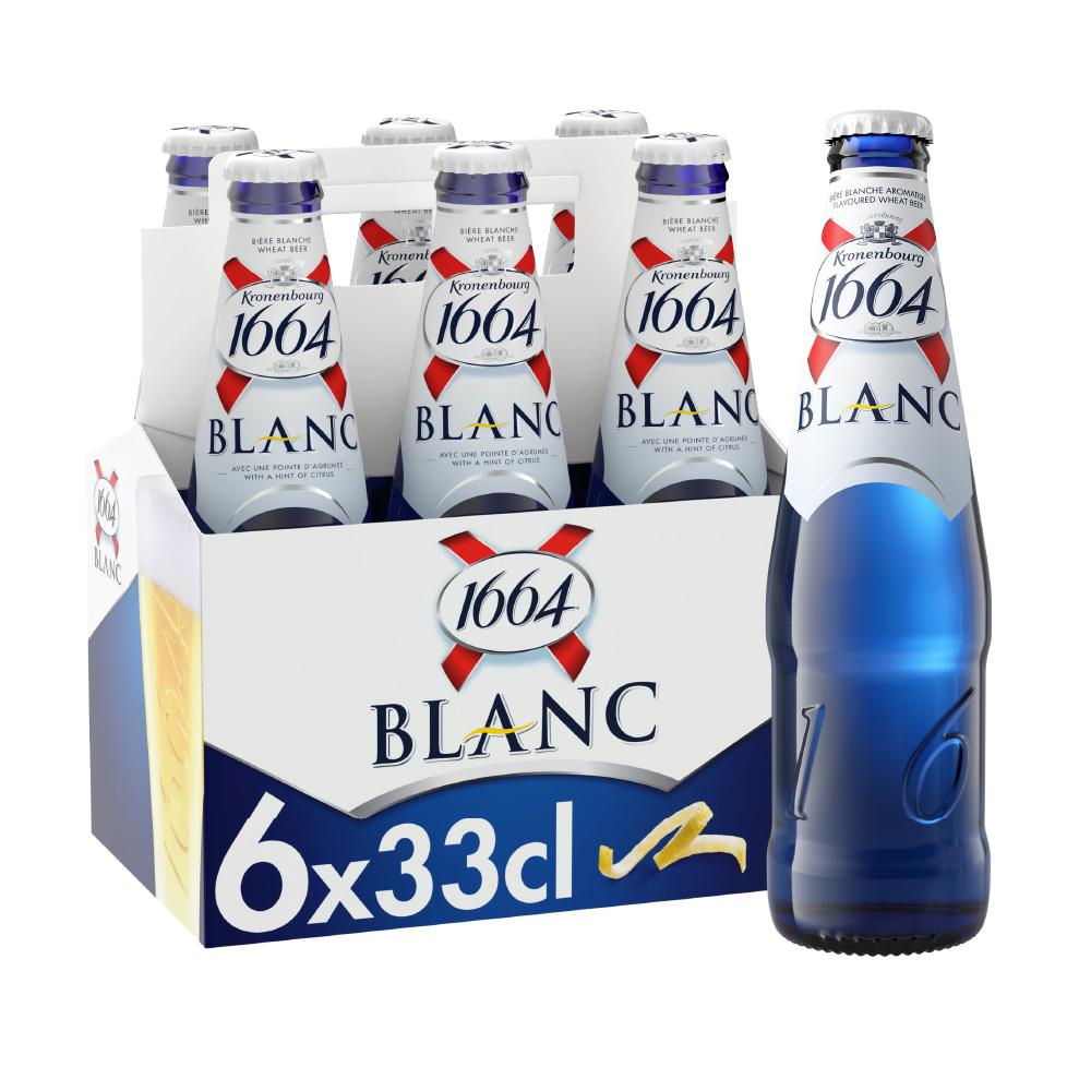 1664 BLANC 5° 6x330ml BT