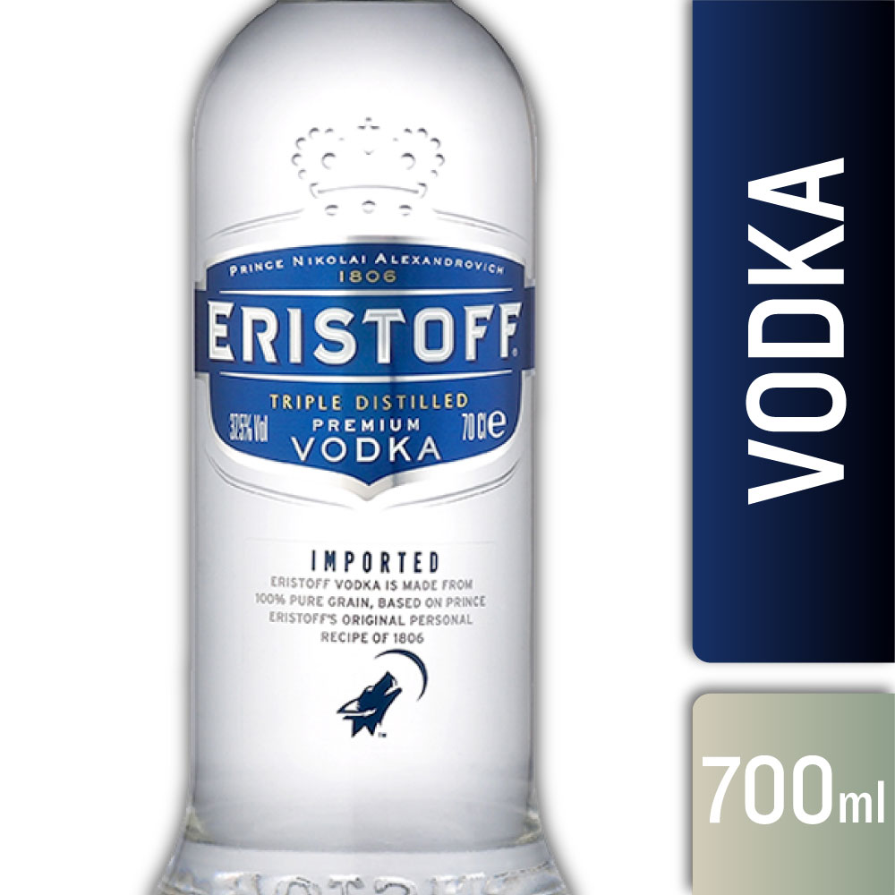 ERISTOFF ORIGINAL 37,5º 700mls