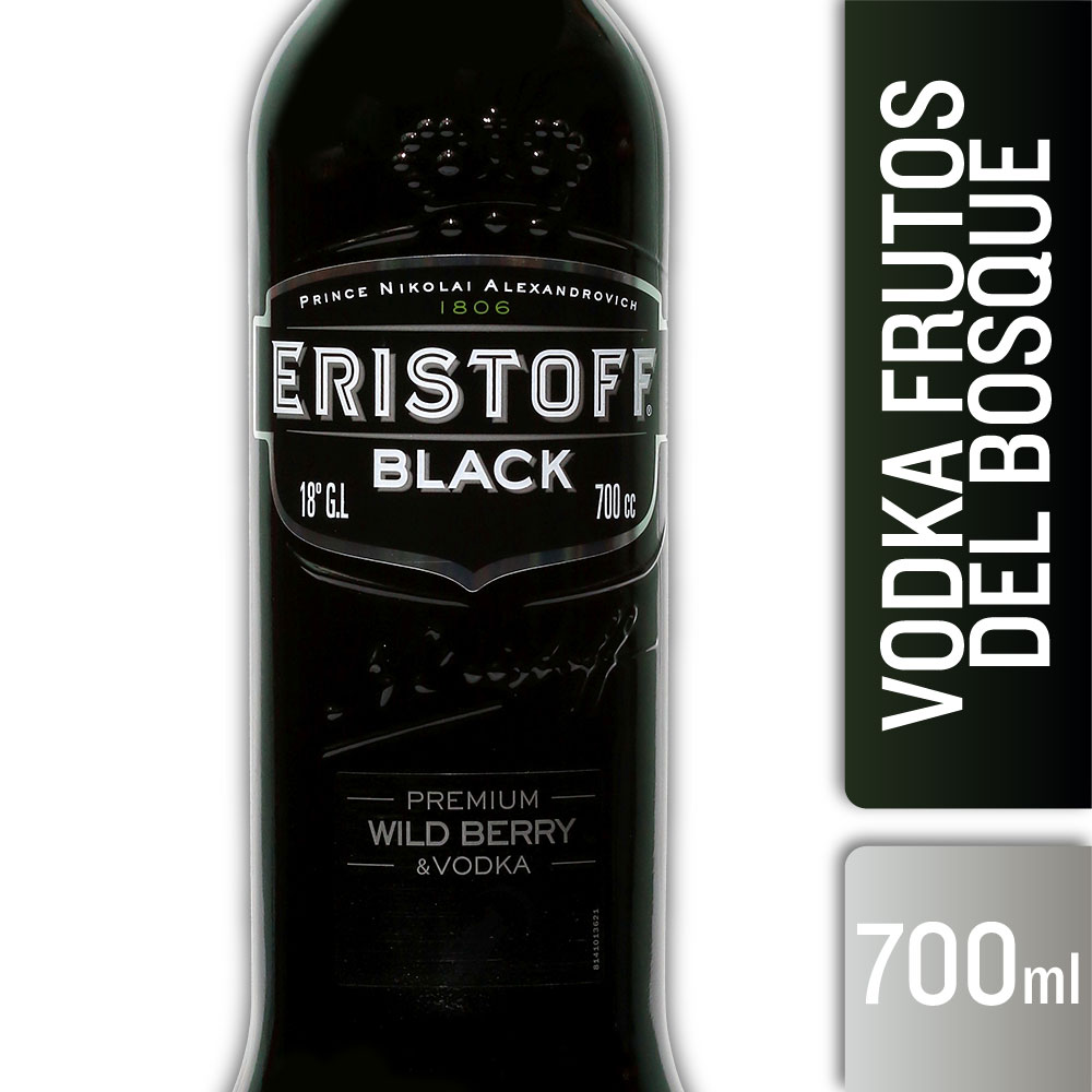 ERISTOFF BLACK 18° 700mls