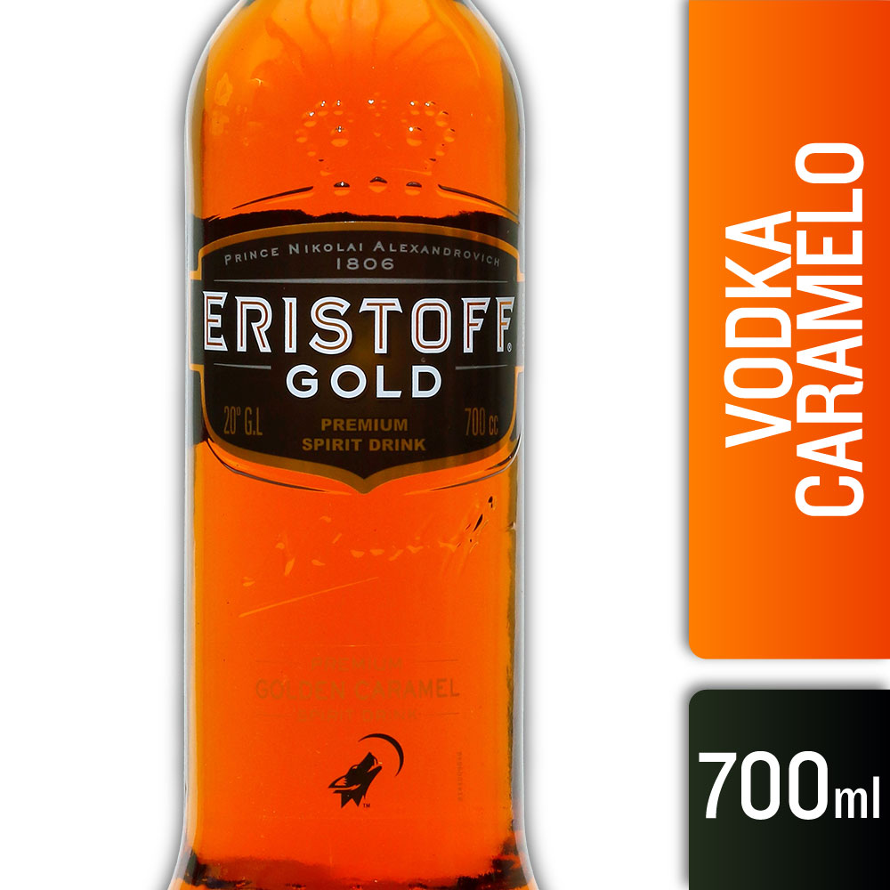 ERISTOFF GOLD 20º 700mls