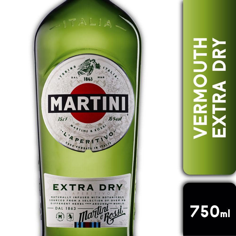 MARTINI EXTRA DRY 18º 750mls