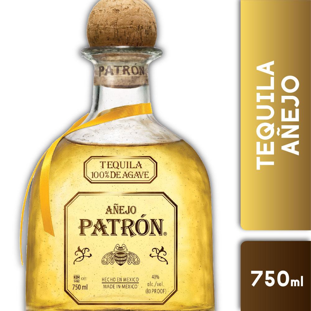 PATRON AÑEJO 40° 750mls