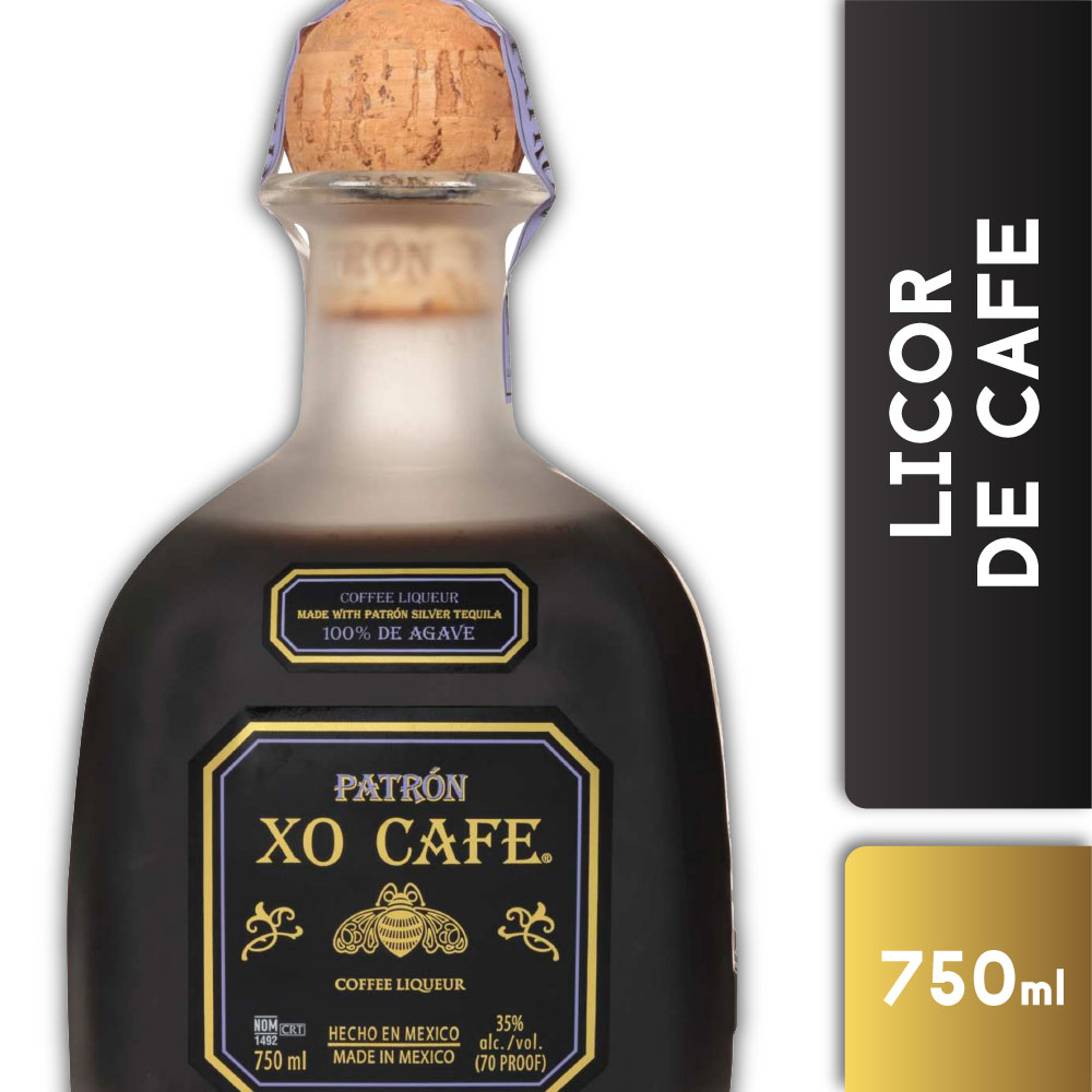 PATRON XO CAFE 35° 750mls