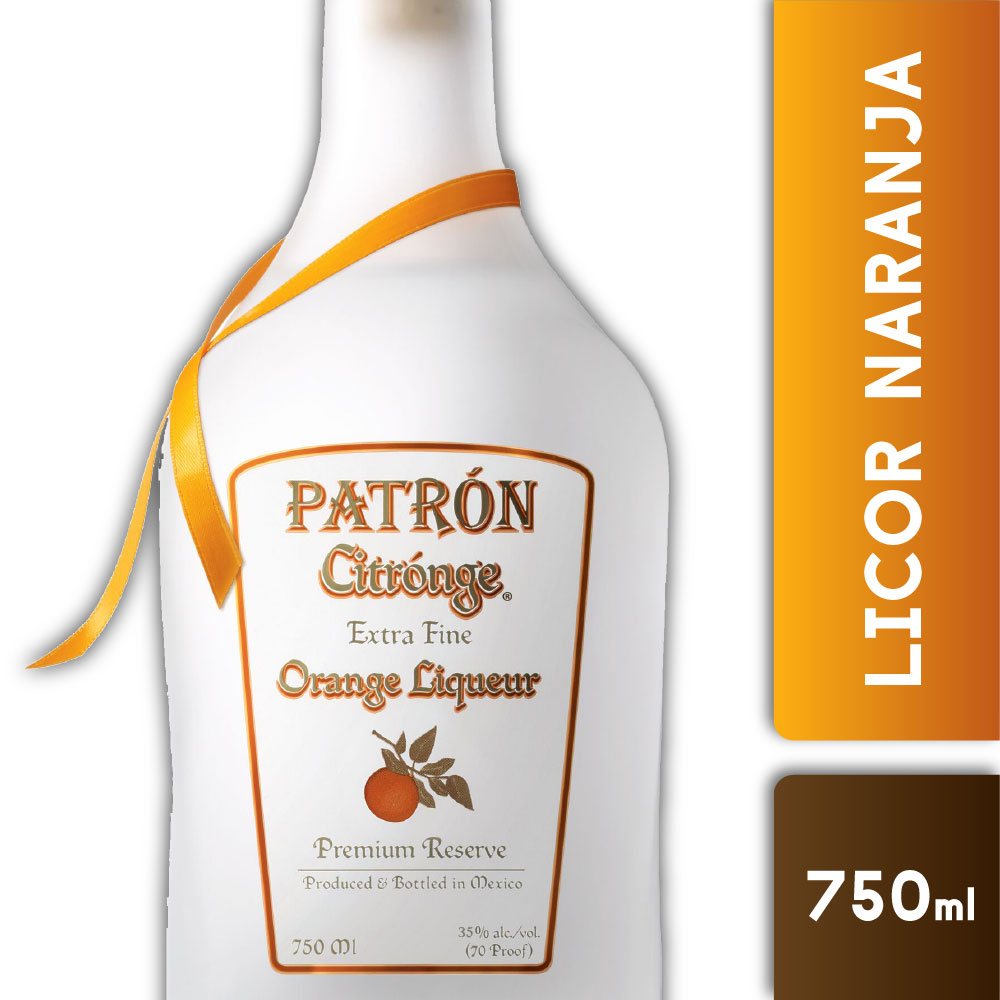 PATRON CITRONGE 35° 750mls