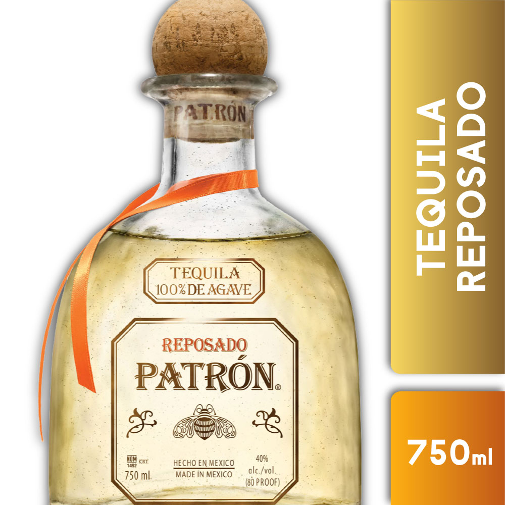 PATRON REPOSADO 40° 750mls