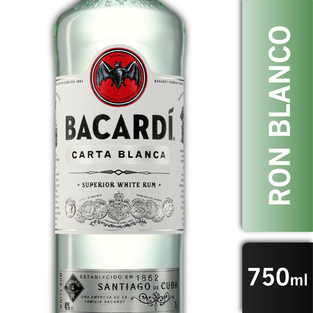 BACARDI CARTA BLANCA 40º 750mls