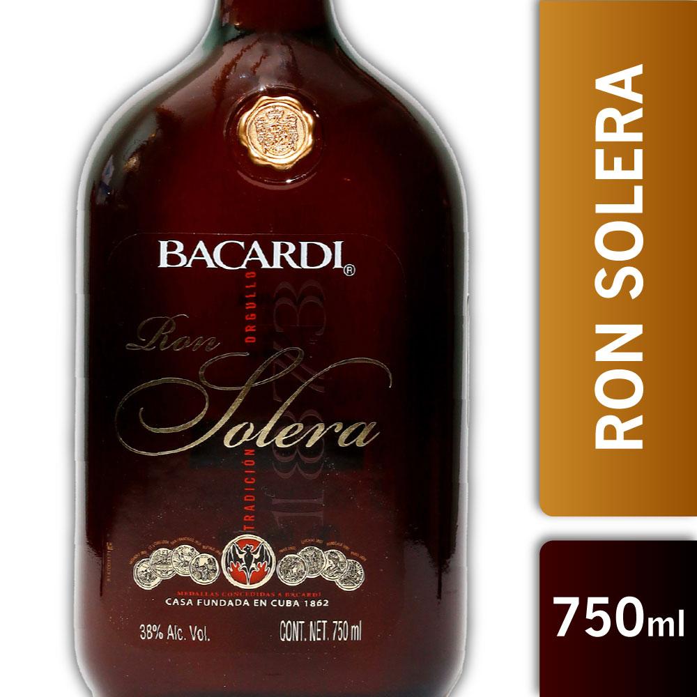 BACARDI SOLERA 38º 750mls
