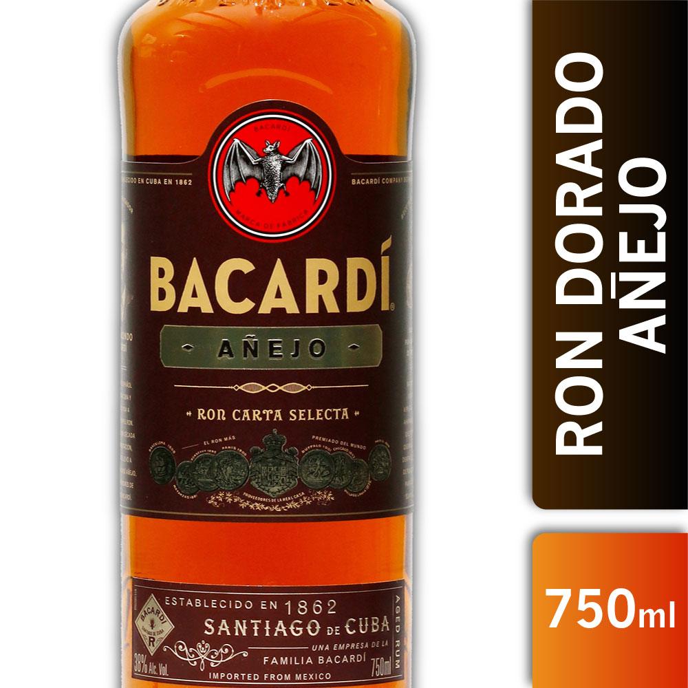 BACARDI AÑEJO 38º 750s