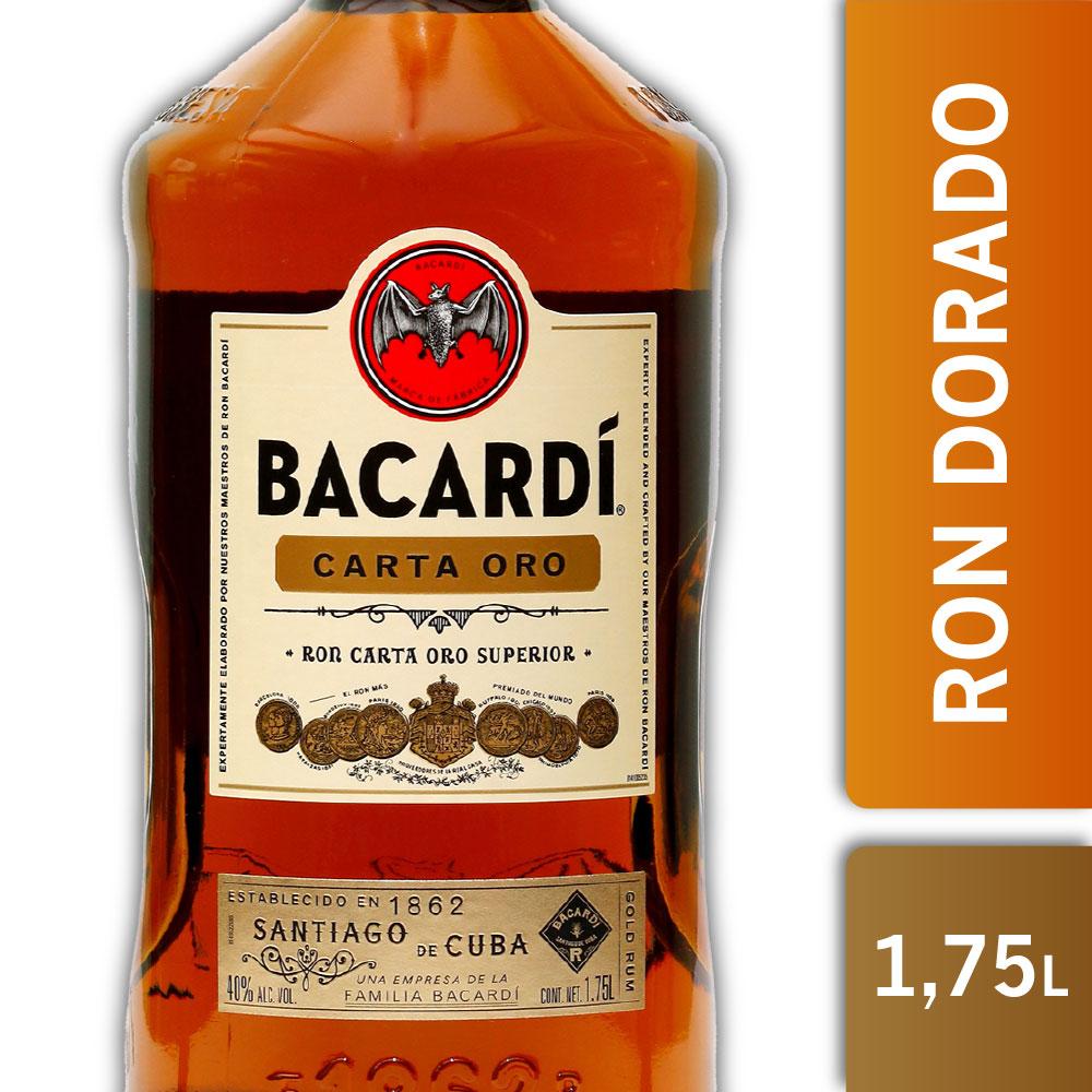 BACARDI CARTA ORO 40º 1750mls