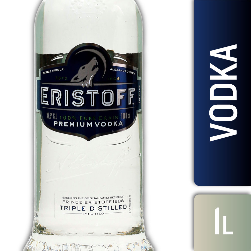 ERISTOFF ORIGINAL 37,5º 1000mls