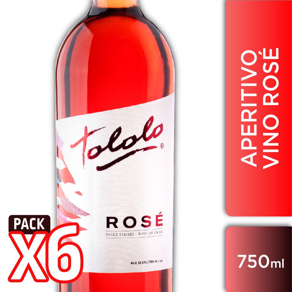 CAJA 6 TOLOLO ROSÉ 750ml