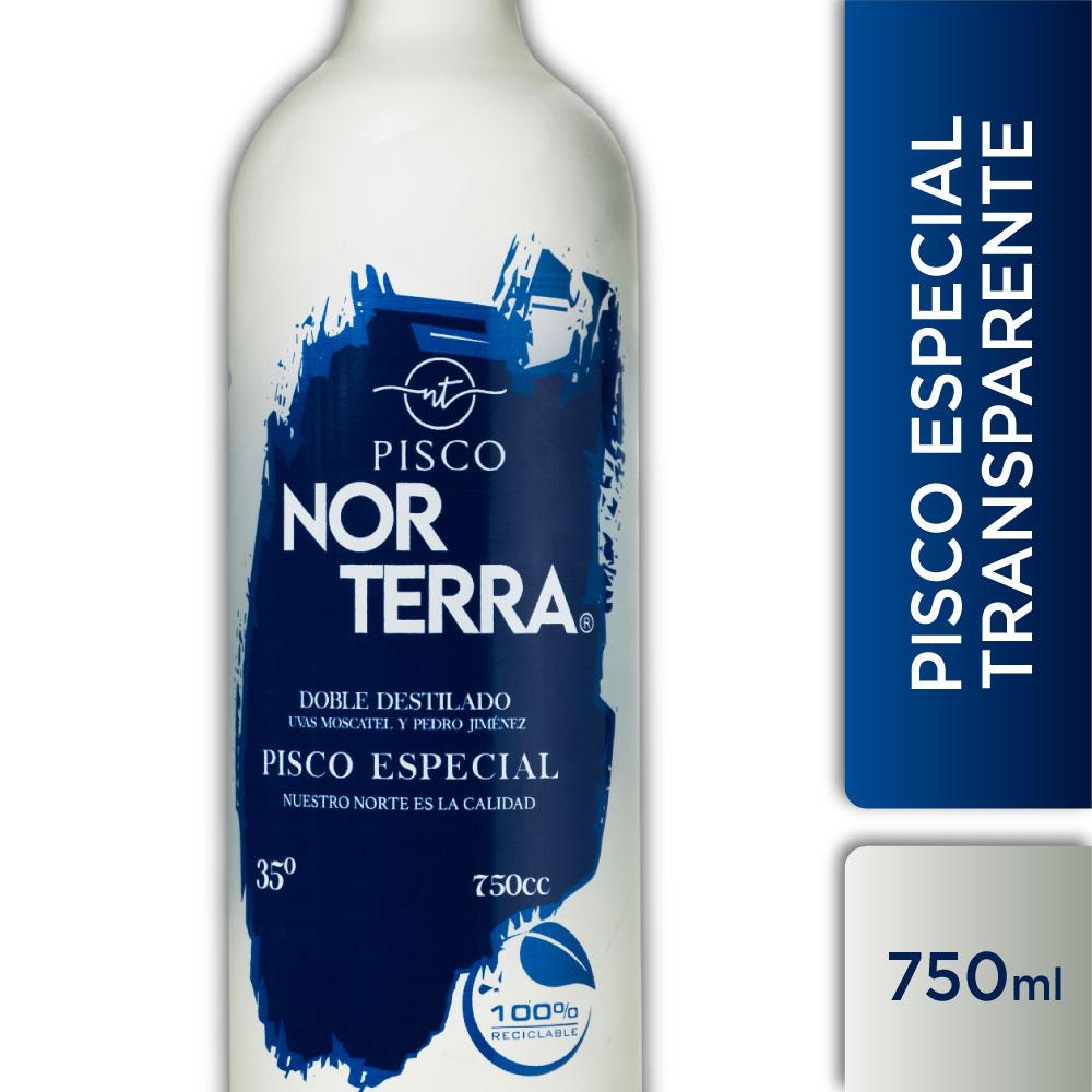 NORTERRA TRANSPARENTE 35° 750ml