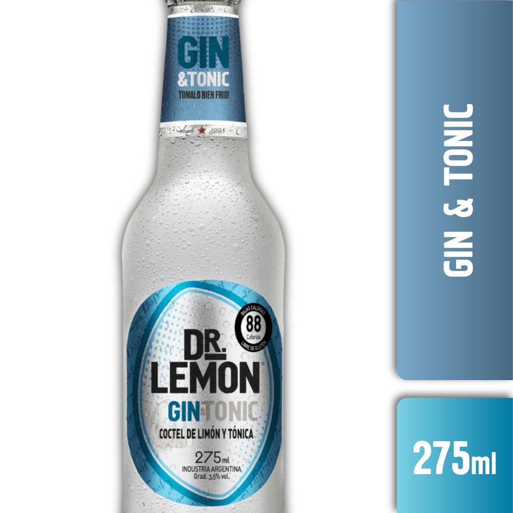 DR LEMON GIN & TONIC 275ml
