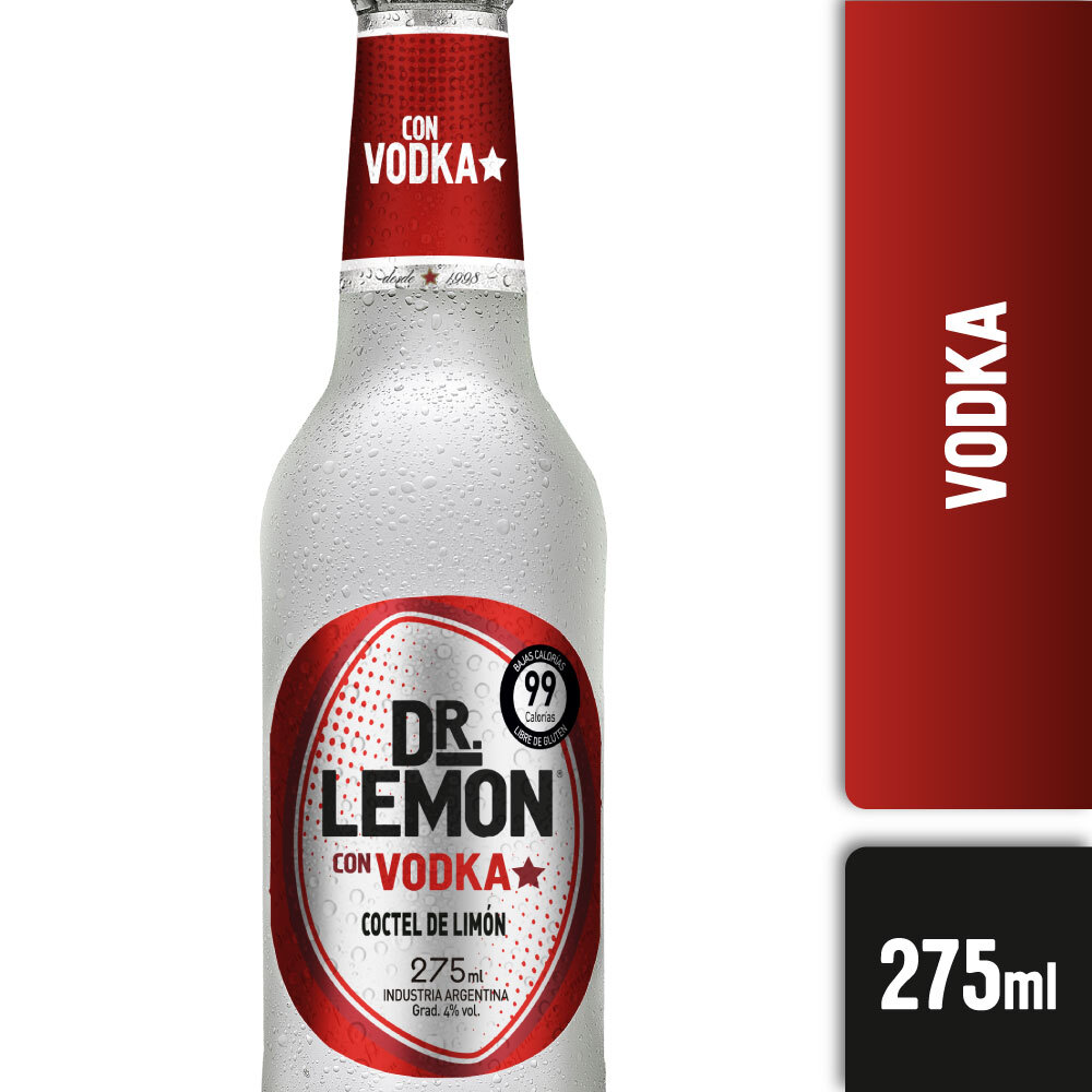 DR LEMON VODKA 275ml