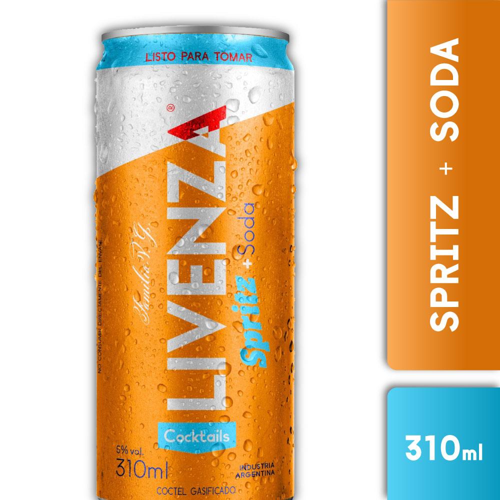 LIVENZA SPRITZ & SODA 310ml