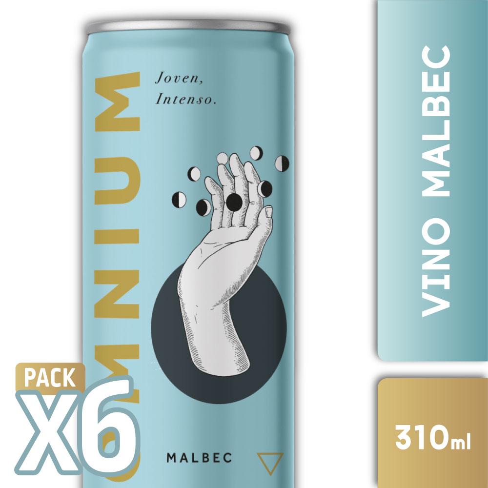 OMNIUM MALBEC 310ml PACK x6