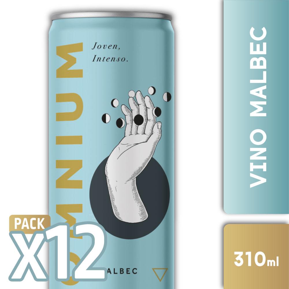 CAJA 12 OMNIUM MALBEC 310ml