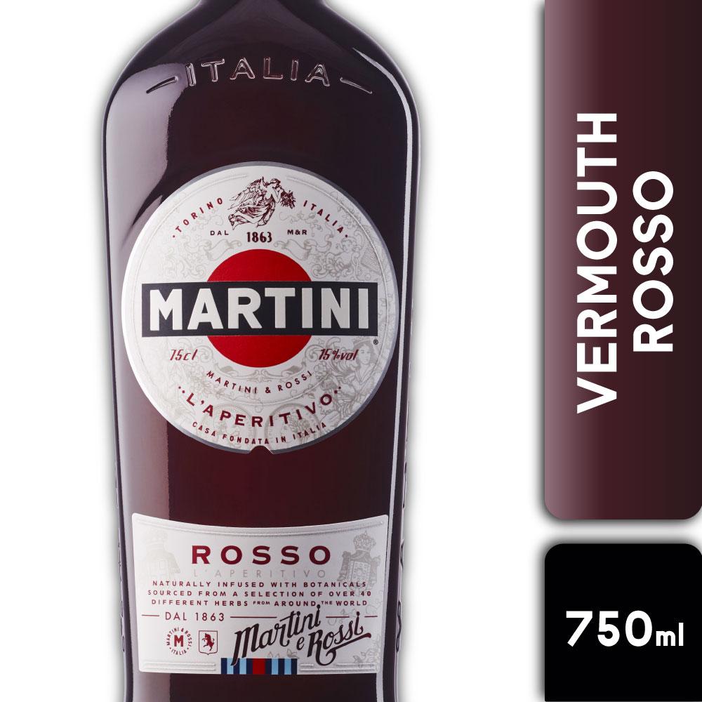 MARTINI ROSSO 16º 750mls