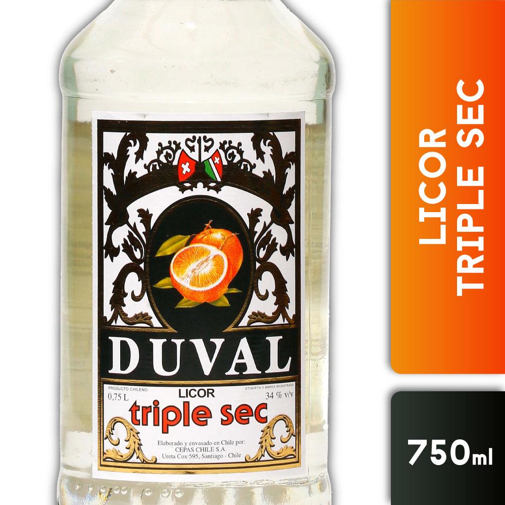 DUVAL TRIPLE SEC 34º 750mls