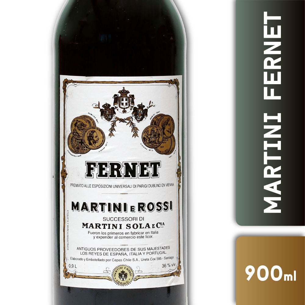 MARTINI FERNET 36º 900mls