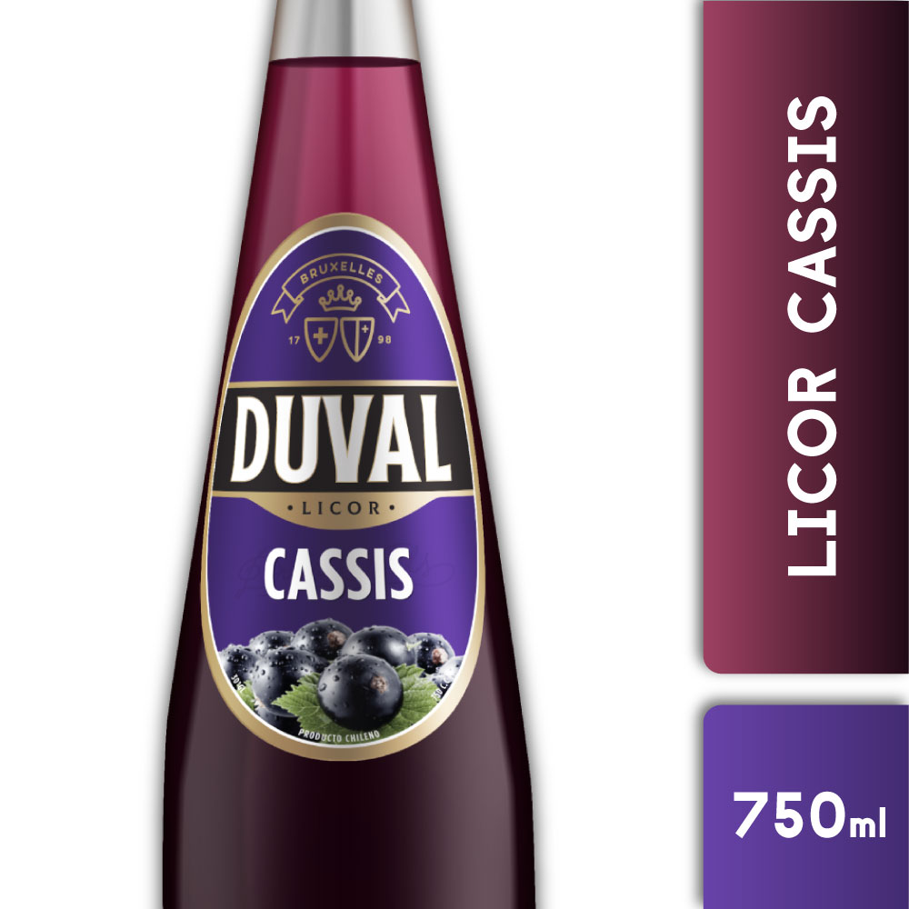 DUVAL CASSIS 20° 750mls