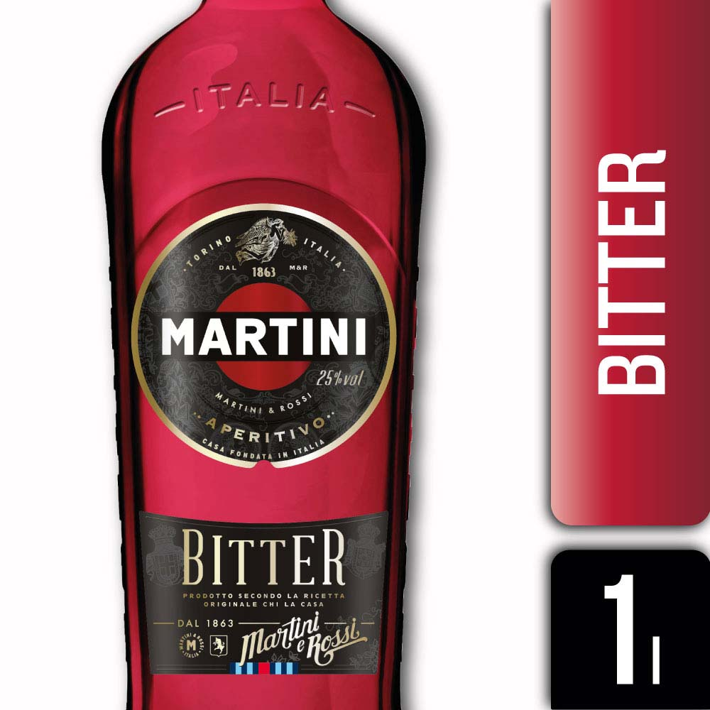 MARTINI BITTER 25º 1000mls