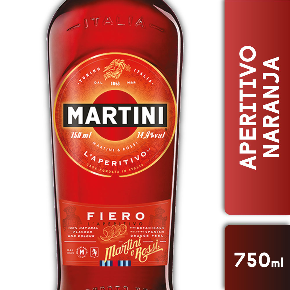 MARTINI FIERO 14.9° 750mls