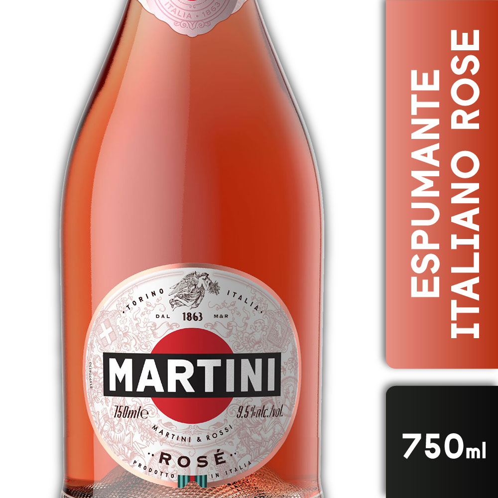 MARTINI SPARKLING ROSE 11,5º 750mls