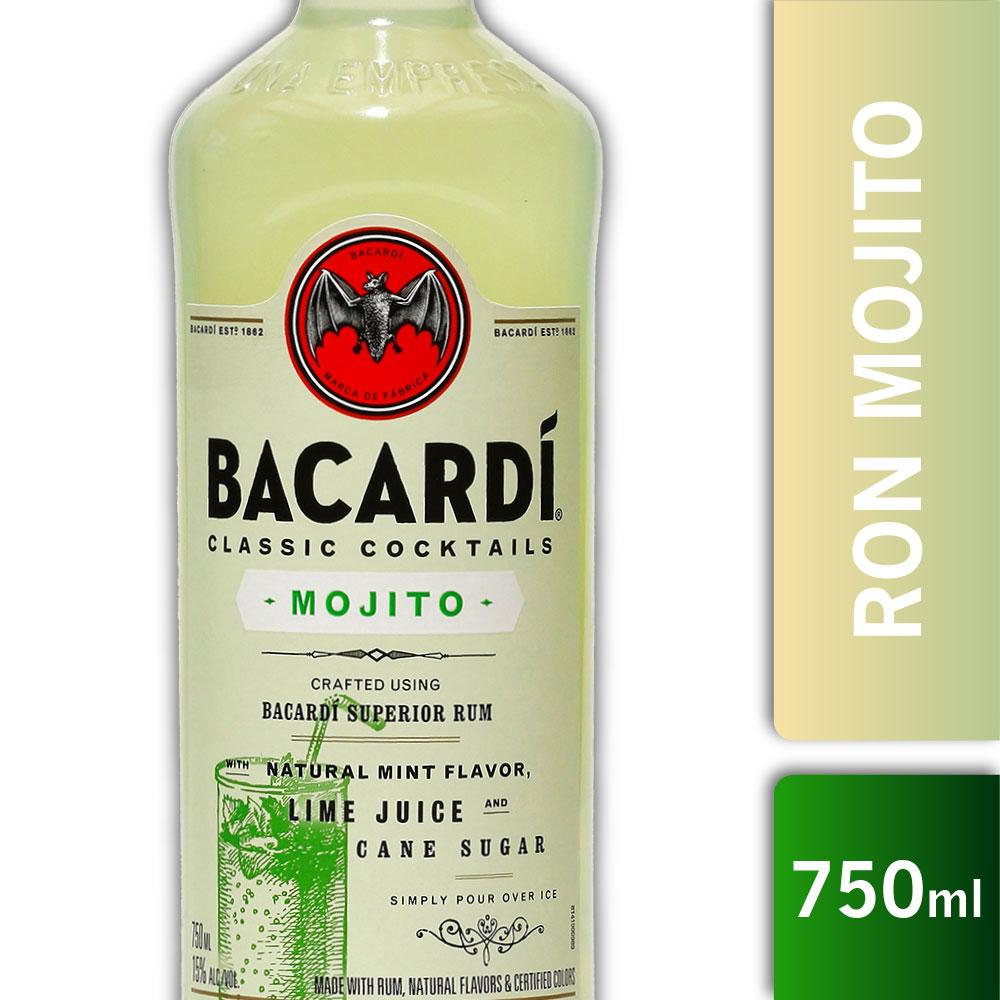 BACARDI MOJITO 15º 750s