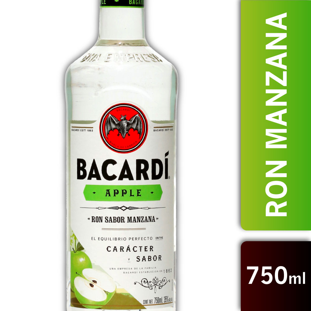 BACARDI MANZANA 35º 750mls