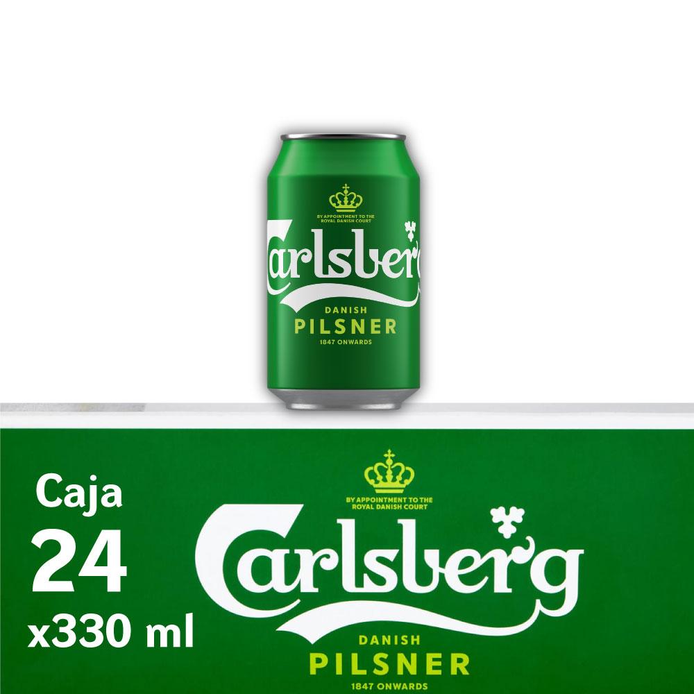 CARLSBERG 5° Lata 330ml PACK x24s