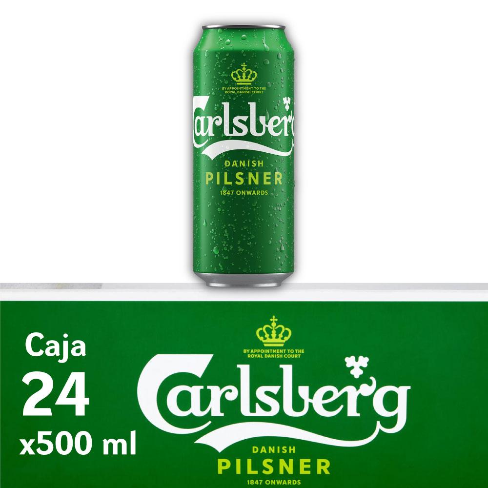 CARLSBERG 5° Lata 500ml PACK x24