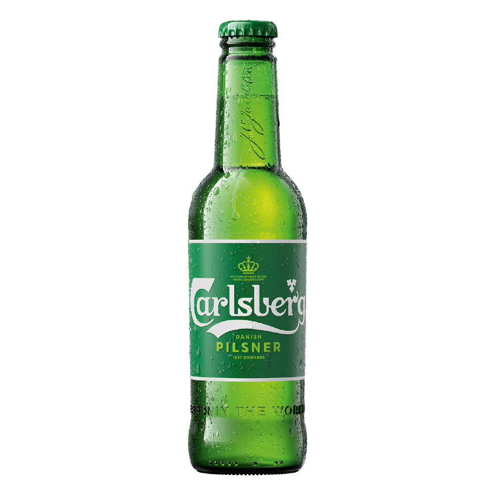 CARLSBERG 5° Botella 330ml PACK x6