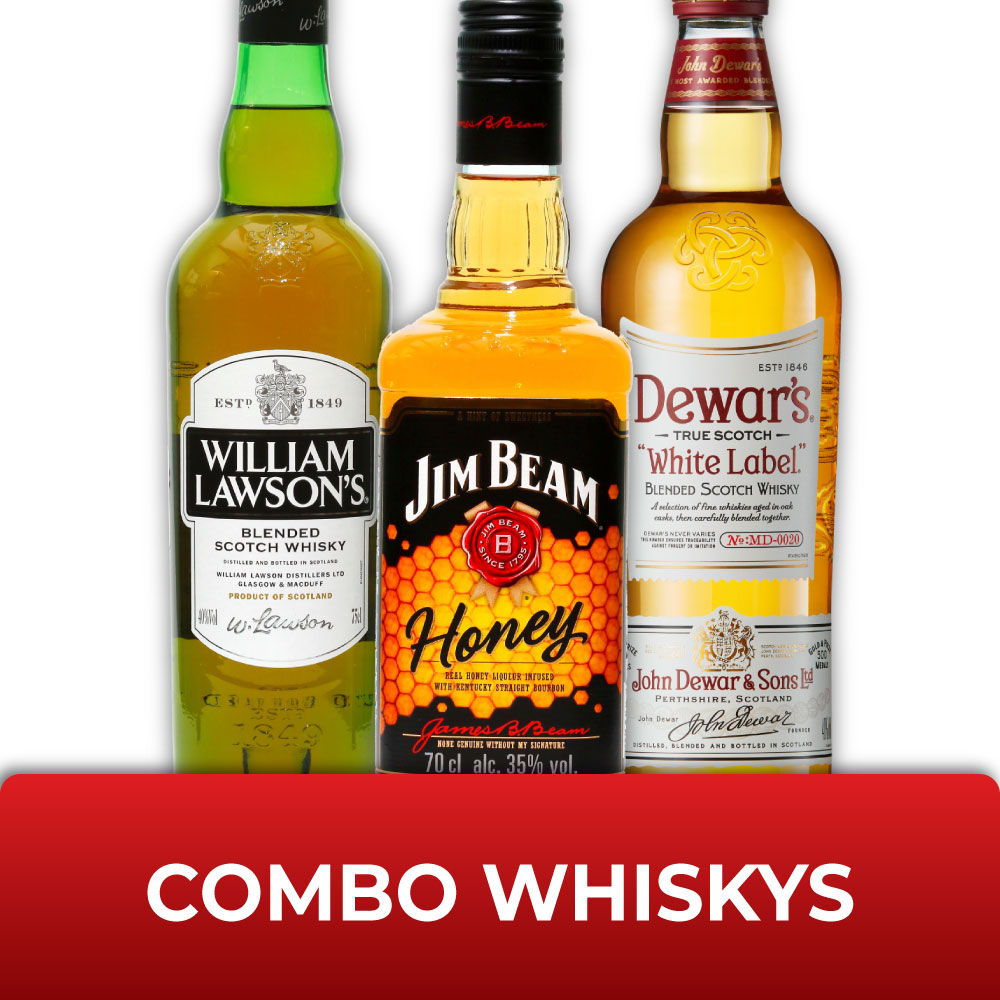 Combo WHISKYSs