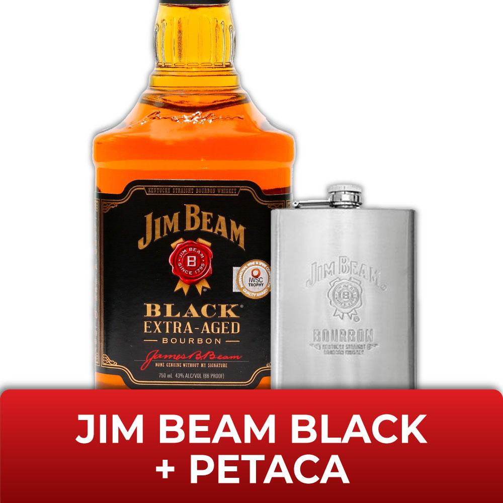 JIM BEAM BLACK + PETACAs