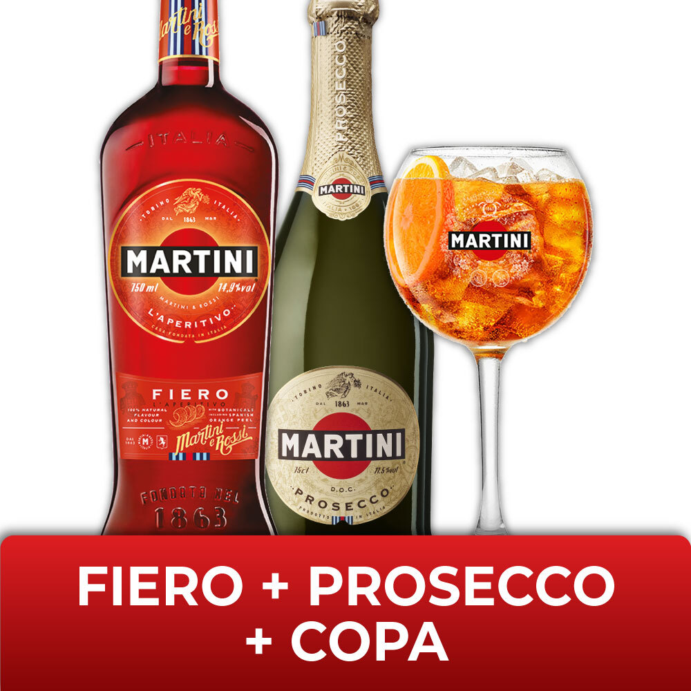 FIERO + PROSECCO + COPAs