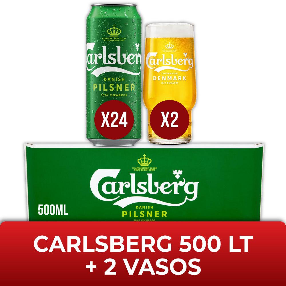 CARLSBERG 500 LT + 2 COPASs