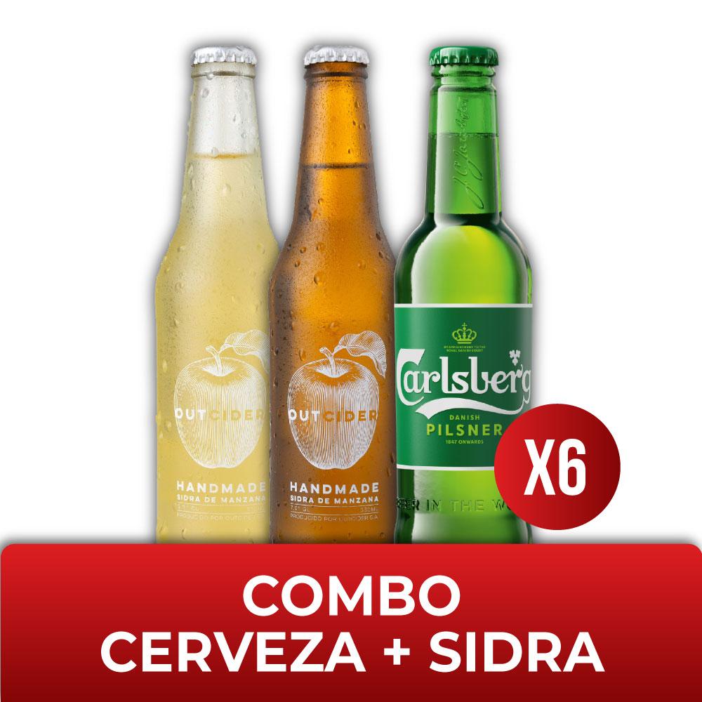 Combo CERVEZA + SIDRA